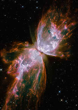 Butterfly nebula and moth bible code.